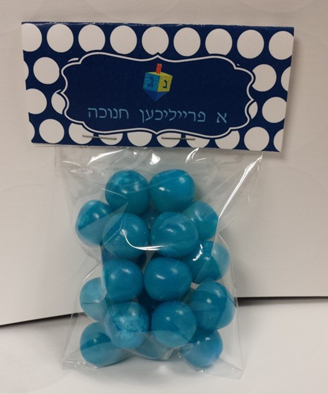 Chanukah Candy Bag Toppers