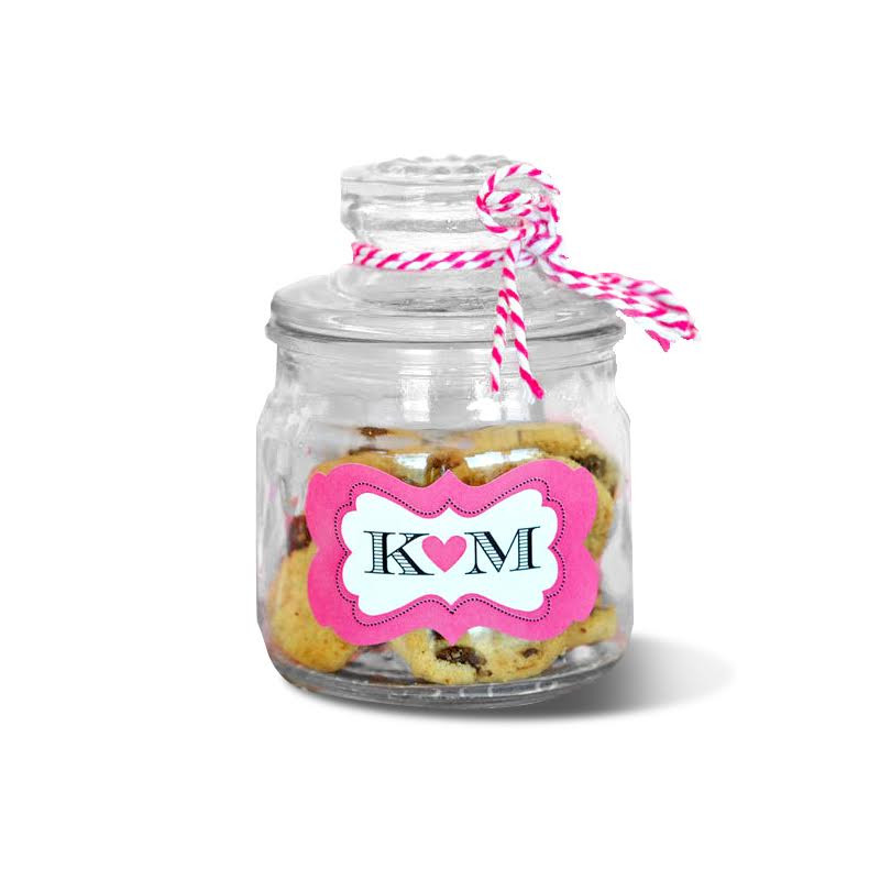 Personalized Mini Cookie Jars