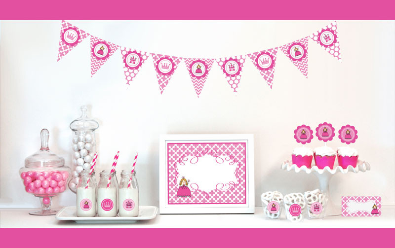 Princess Party Decorations Starter Kit