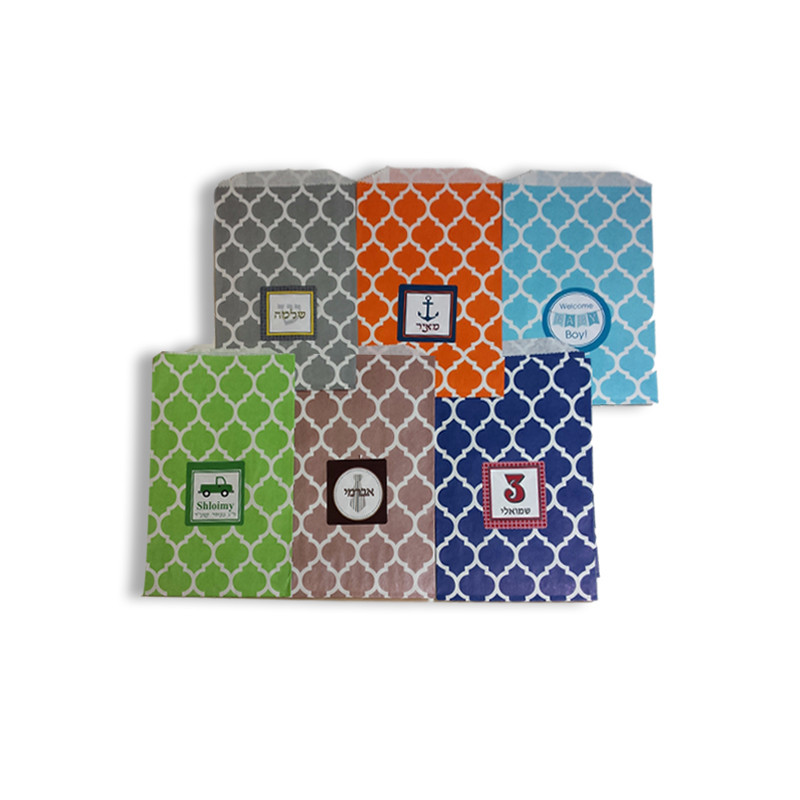 Casablanca Favor Bags with Optional Personalized Labels Sold Below