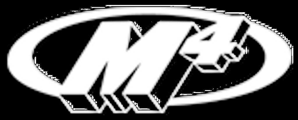 "2008-2017 Hayabusa ""Retro Drag"" Slip On System with TWIN BLACK Mufflers"