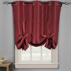 Soho Triple-Pass Thermal Insulated Blackout Curtain Top Grommet-Burgundy