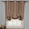 Soho Triple-Pass Thermal Insulated Blackout Curtain Top Grommet-Mocha