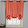 Soho Triple-Pass Thermal Insulated Blackout Curtain Top Grommet-Coral