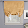 Soho Triple-Pass Thermal Insulated Blackout Curtain Rod Pocket-Gold