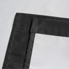 Soho Triple-Pass Thermal Insulated Blackout Curtain Rod Pocket-Black-details