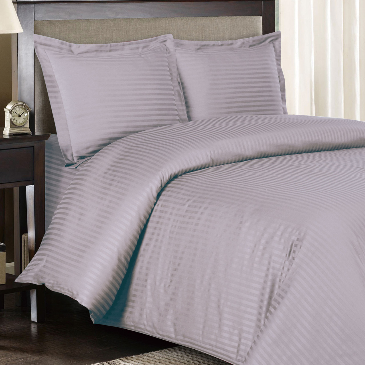set cover dunelm product woven and willington duvet grey main pillowcase striped
