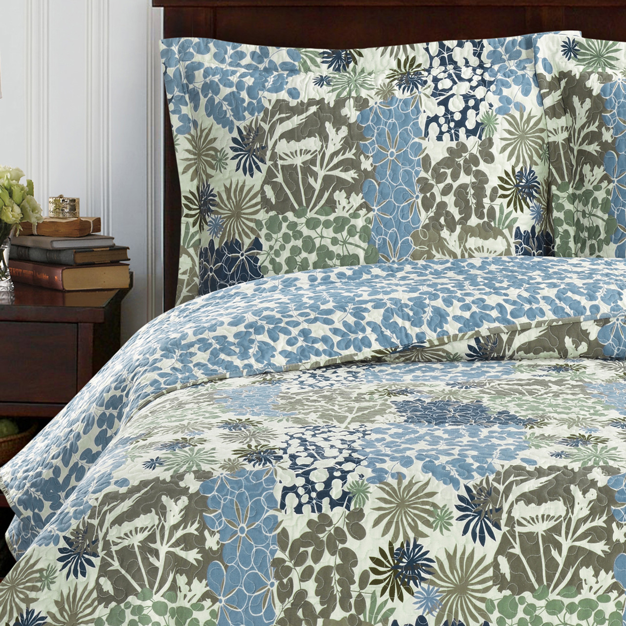 p damaskquiltgreen quilt damask green