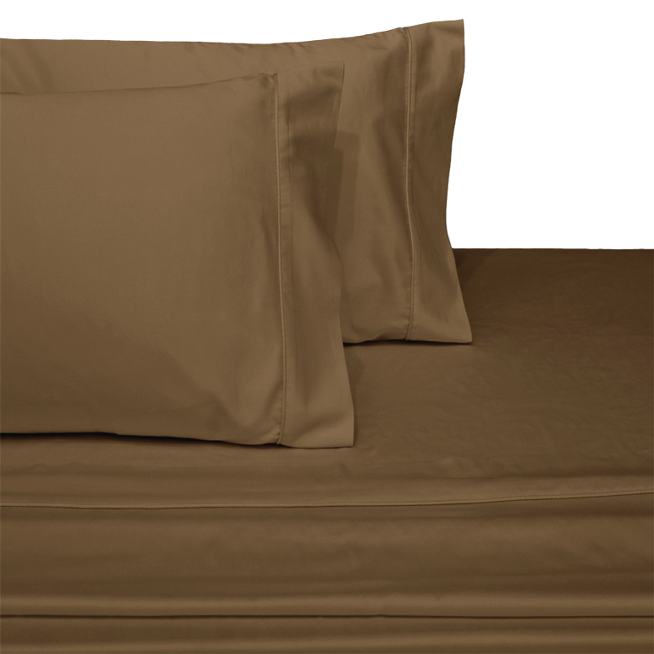 ... Taupe Olympic Queen 100% Cotton 300 Thread Count ...