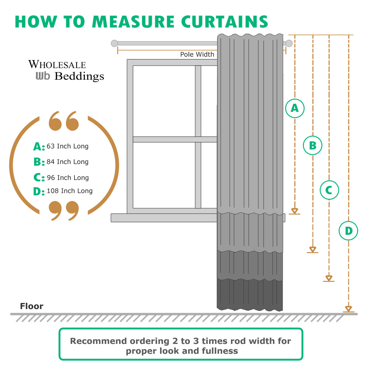 rod width curtains xtrons superb measure of x length photo store curtain com