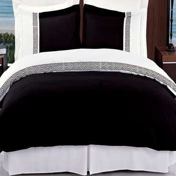Astrid Embroidered 3-Piece Duvet Cover Sets
