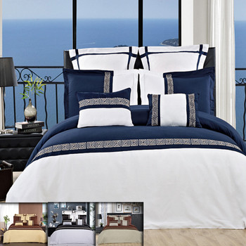 Astrid 7-8 Piece Embroidered  Duvet Cover Sets