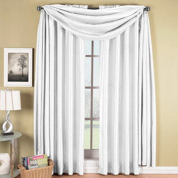 white grommet blackout curtains