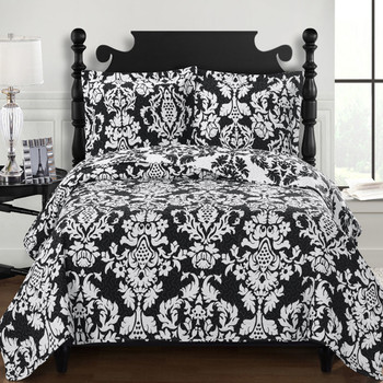 Catherine Oversized King Quilts or Queen Size  Reversible Hypoallergenic Quilt Set