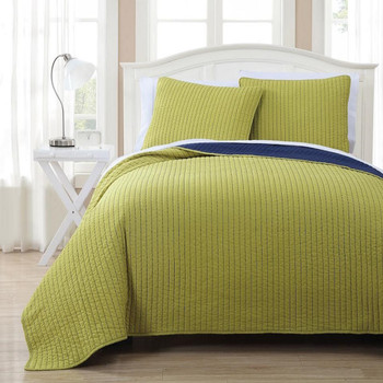 Project Runway Oversized Reversible Quilted Coverlet Set