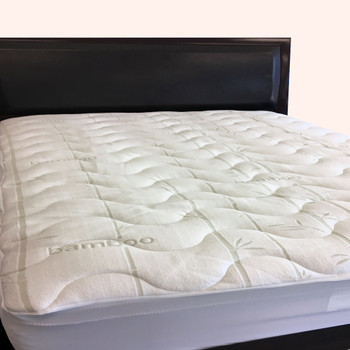 Waterproof-Bamboo-Jacquard-Mattress-Pad