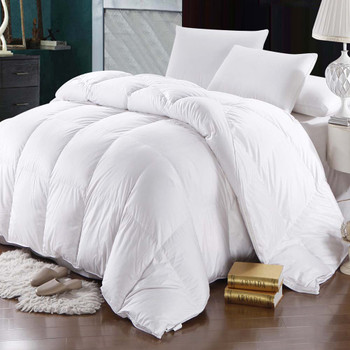 Goose Down Comforter 600 Thread Count Oversized Winter Weight By Abripedic