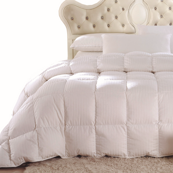 White Duck Down Comforter Twin- Twin Xl size Down duvet insert by Royal Hotel