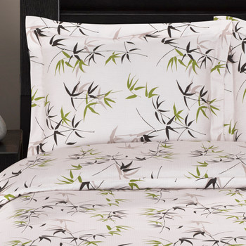 300-Thread-count-100%-Cotton-Fern-Duvet-Cover-Sets -Closeup