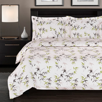 300-Thread-count-100%-Cotton-Fern-Duvet-Cover-Sets