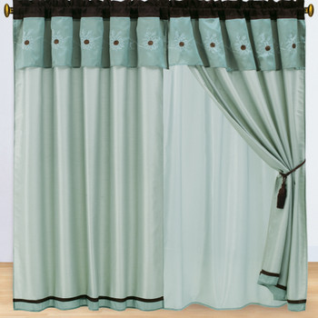 Grand-Park-Swirl-Aqua-Blue-5Piece-Curtain-Panel