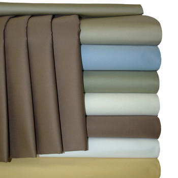 """22"""" Deep Pocket California King Sheets 100% cotton 300 Thread count Solid"""