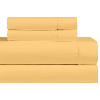 Gold-California-king-Size-Bed-Sheets