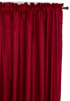 Burgundy-Pair-Windham-Interlined-Rod-Pocket-Curtain-Panels