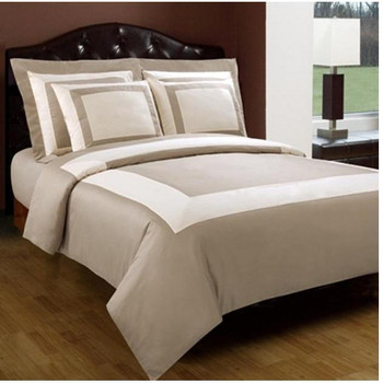 Beige/Ivory-10-Piece-Hotel-Cotton-Down-Alternative-Bed-in-a-Bag