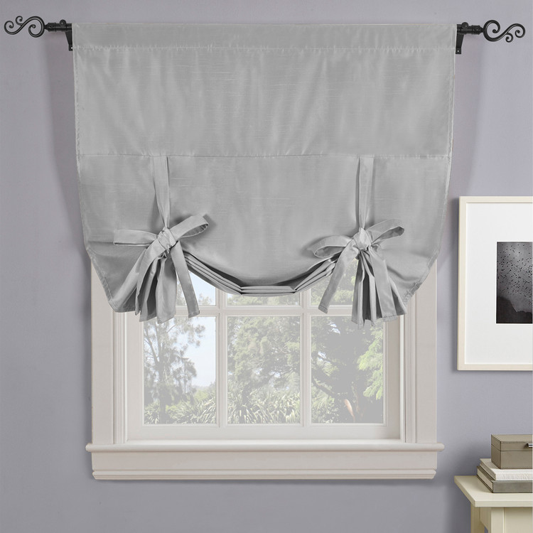 Soho Triple-Pass Thermal Insulated Blackout Curtain Rod Pocket-Silver
