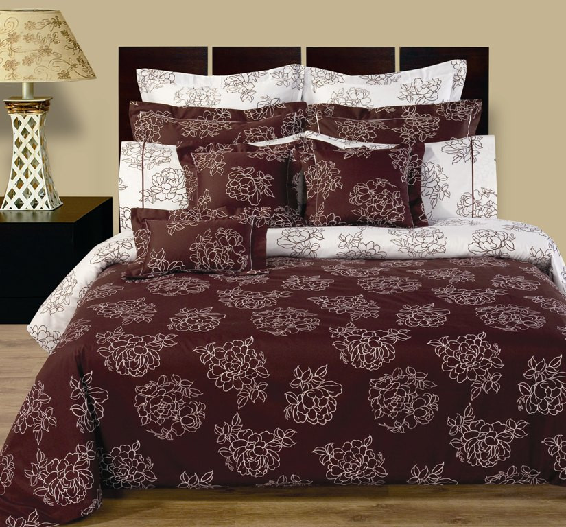 ... Cloverdale 11 Piece Reversible 100% Cotton Bedding Set
