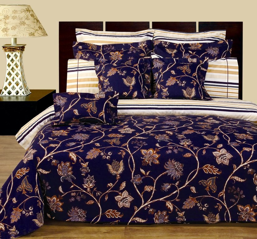 Lilian 11 Piece Bed In A Bag 100% Cotton  ...