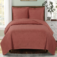 Royal Tradition Emerson Ornamental Design Solid Quilted C...