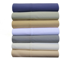Split King Adjustable Bed Sheet Sets 100% Breathable Crispy Soft Cotton Percale Sheets