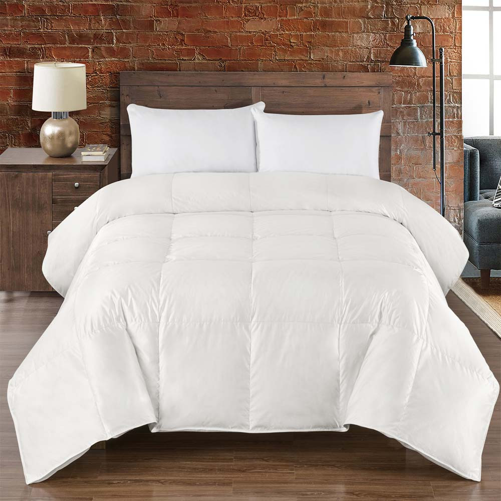 goose premium products feather power pd fill comforter count thread tc down puredown