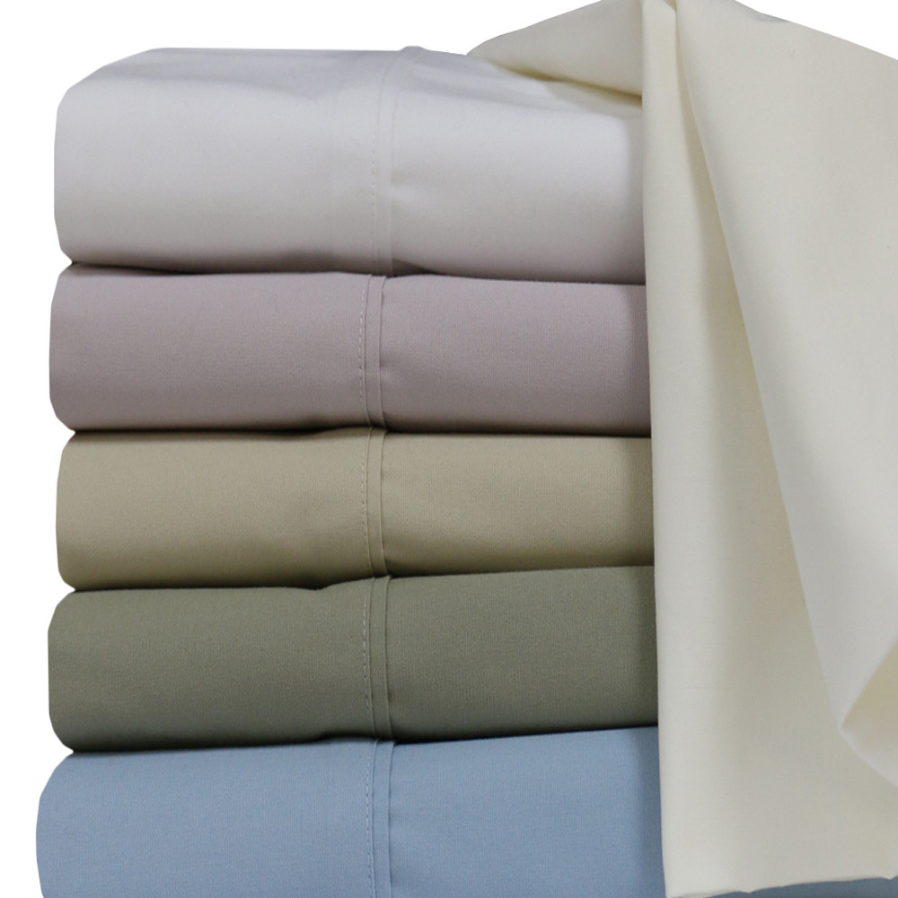 Extra Long Twin Super Soft 100% Cotton Percale ...