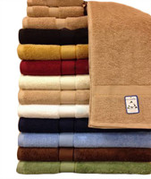 Royal Tradition 100% Cotton Highly Absorbent 6-Piece Towe...