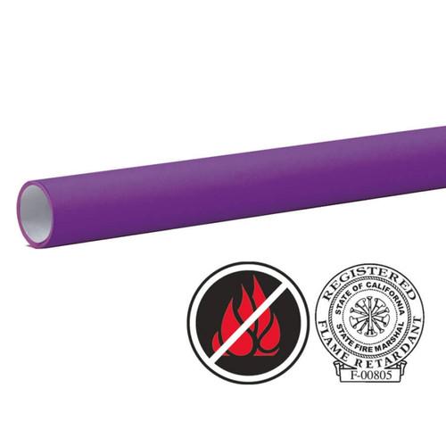 "Pacon Flameless/Fadeless 48""X100', Grape Paper"