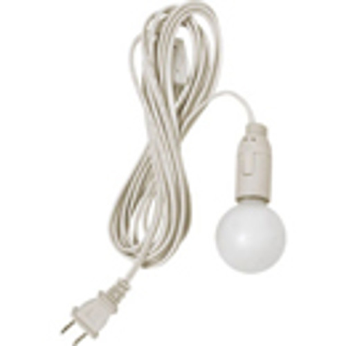 Paper Lantern UL Listed 10' White Cord