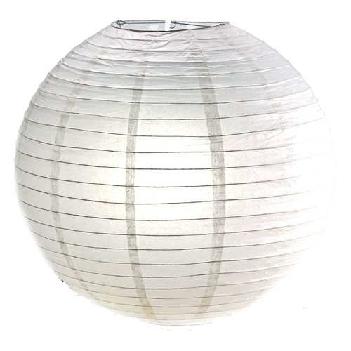 """White Paper Lanterns a.k.a China Ball 18"""""""