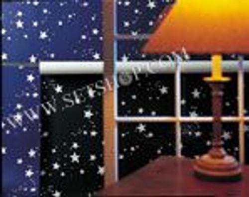 """1592 - Stars Blue 82"""" x 36'"""