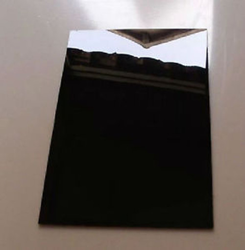 "352025 1/8"" Opaque Black Acrylic Sheet, 2 sides glossy 4'x8'"