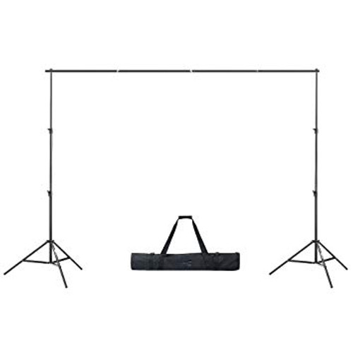 Portable Background Stand Tripod Base (2 Poles + Crossbar)
