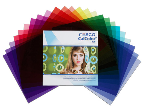 556 - Rosco CalColor Kit, Gels