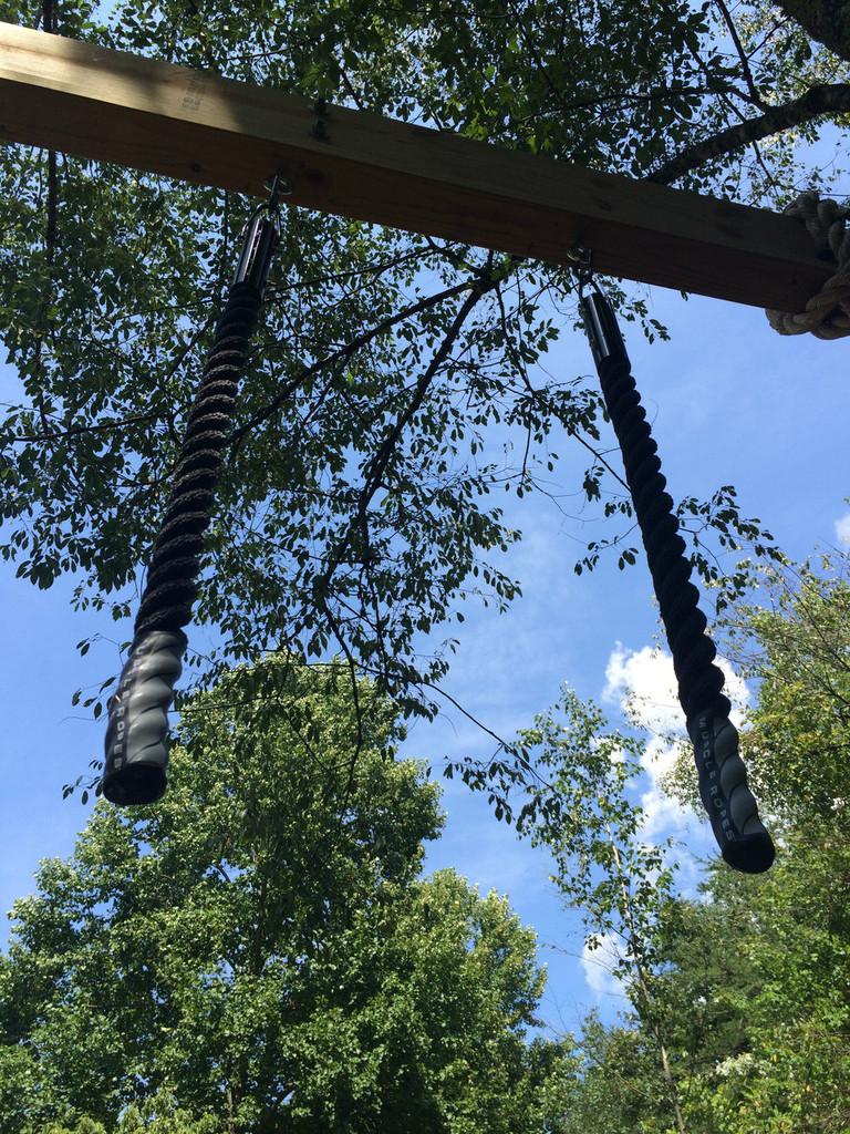 "Set of 1.5"" Grip Strength OCR Exercise Monkey Ropes"