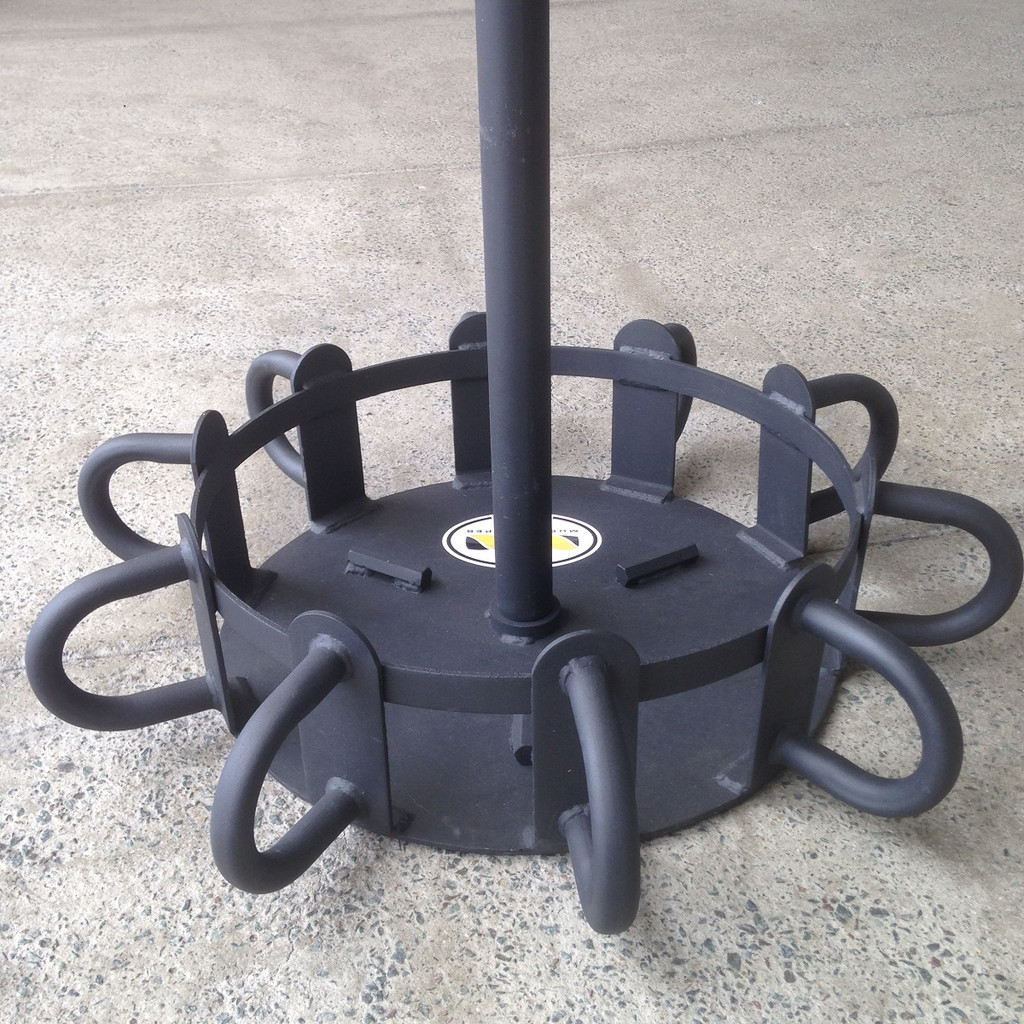 Multi-Station Battle Rope Anchor