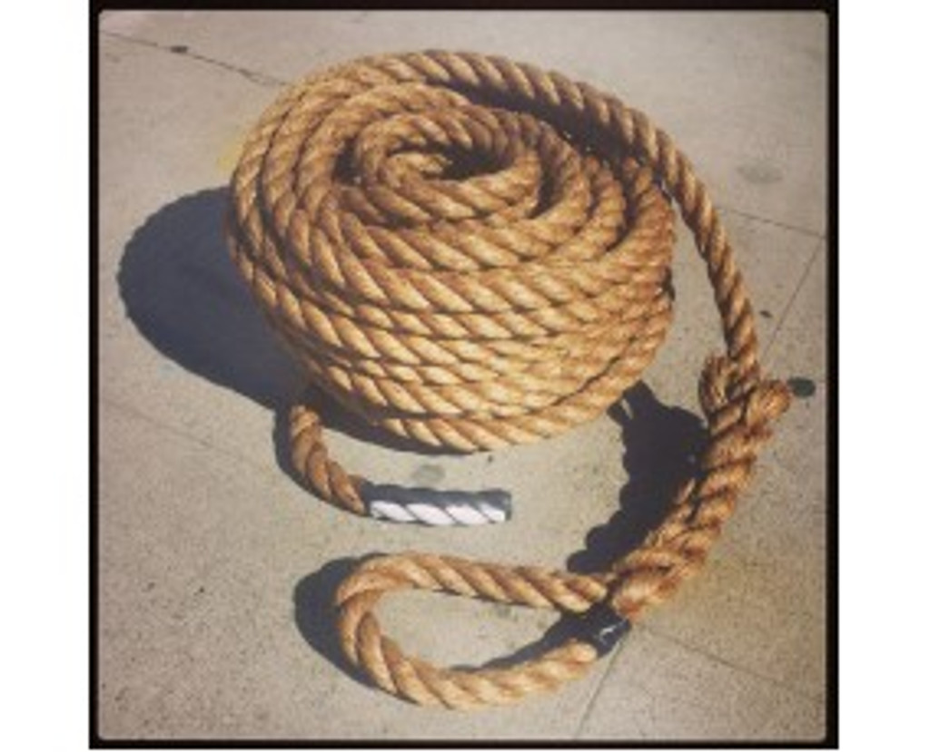 """PMF! 1.25"""" Pulling Exercise Rope By Muscle Ropes"""