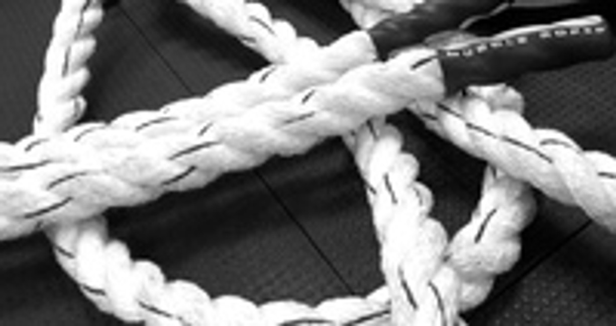Muscle Ropes Help Destroy Body Fat
