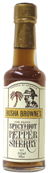 Ideal in the preparation of stir fry dishes, this traditional Pepper Sherry has numerous applications in both classic and fusion menus. Sweet sherry infused with Scotch Bonnet Peppers.