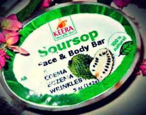 Soursop Face & body bar
